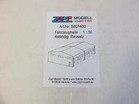 Set nave para vehiculos para montar y pintar, Zapf 1/50