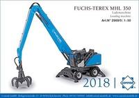 Terex Fuchs MHL 350E Conrad Modelle 2969 Masstab 1/50