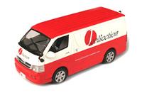 Toyota Hiace Lieferwagen, J-collection 1/43