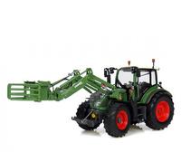 Tractor Fendt 516 Vario con pinza para balas Universal Hobbies 4271 escala 1/32