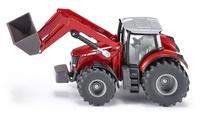 Tractor Massey Ferguson con pala Siku 1985 escala 1/50