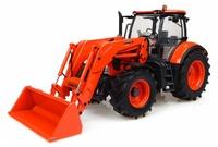 Traktor Kubota M7-171 + cargadora Universal Hobbies 4940