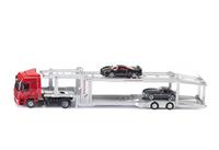 Transporte coches Mercedes Actros + Kässbohrer Siku 3934 escala 1/50