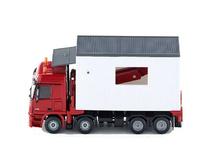 Transporte garajes Mercedes Actros Siku 3544 escala 1/50