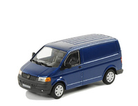 VW Transporter blau Wsi Models 04-1026 Masstab 1/50