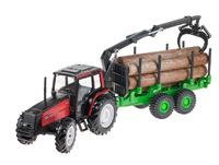 Valtra  6850 Tractor Grúa Porta troncos Joal 254