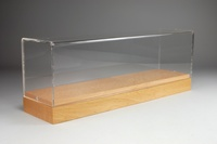 Vitrina madera - metacrilato - Tekno 59578 Masstab 1/50