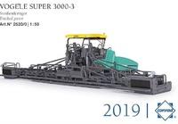 Voegele Super 3000-3 asfaltadora Conrad Modelle 2520/0