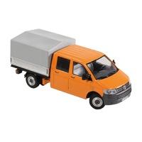 Volkswagen T5 Doppelkabine orange Nzg 8881/65 Masstab 1/50