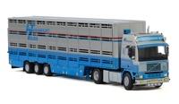 Volvo F16 transporte animales Heuga Wsi Models 2769