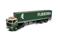 Volvo FB 88 con trailer tautliner clasico, Tekno 61055