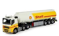 Volvo FH 4 6x2 + cisterna gasolina Shell Tekno 71348 escala 1/50