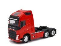 Volvo FH04 6x4 - rojo Welly 32690L-W escala 1/32