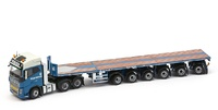 Volvo FH04 Globetrotter + 6 ejes Nooteboom Ballasttrailer Sarens - Imc  escala 1/50