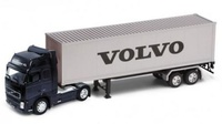 Volvo FH12 + trailer contenedor Welly 32631 escala 1/32