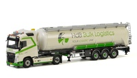 Volvo FH4 + cisterna HdB Logistics Wsi Models 01-2793