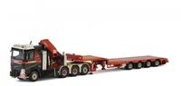 Volvo FH4 + grua palfinger + plataforma baja Mammoet Wsi Models 410310