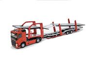 Volvo FH4 500 Transporte Coches rojo Eligor 116250 escala 1/43