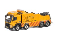 Volvo FMX Globetrotter Falkom Wsi Models escala 1/50