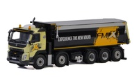 Volvo Fmx Day Cab Volquete 5 ejes Wsi Models 04-2040 escala 1/50
