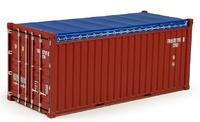 contenedor 20 pies abierto Tekno 70551 escala 1/50