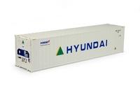 contenedor frigo 40 pies Hyundai Tekno 70485 escala 1/50