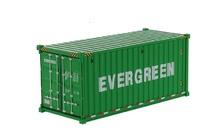 contenedor maritimo 20 pies - Evergreen -  Diecast Masters 91025d
