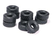 neumáticos 10 unidades - diametro exterior 2,1 cm Nzg Modelle 400/18
