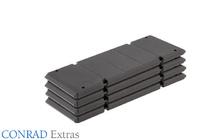 soporte para apoyos de la grua Liebherr LG 1750 Conrad Modelle 99913 escala 1/50